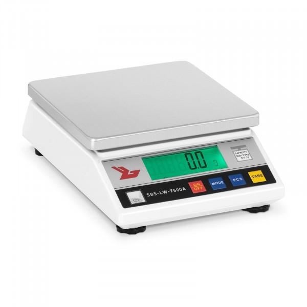Balança de precisão - 7500 g / 0,1 g