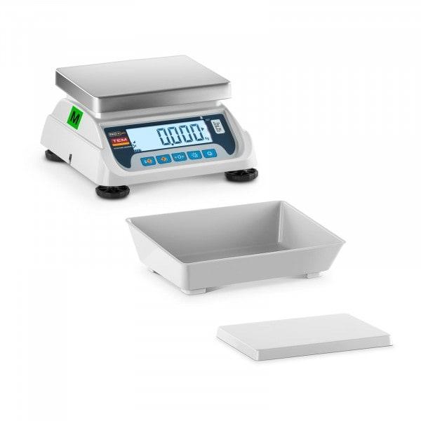 Produtos recondicionados Balança de loja - 3 kg / 1 g - 2 plataformas - legalização