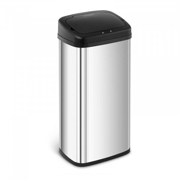 Produtos recondicionados Caixote do lixo automático 40 l - sensor 20 cm - aço inoxidável