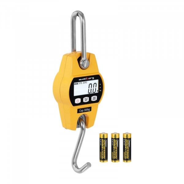 Produtos recondicionados Balança digital de guindaste - 300 kg / 100 g - amarela