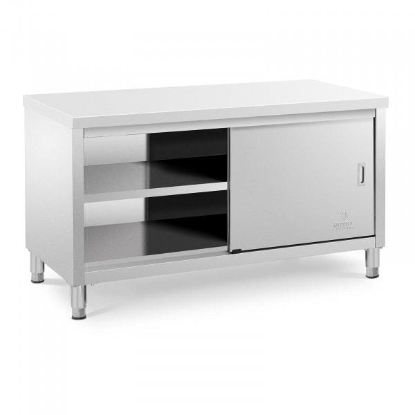 Mesa de trabalho com armário - 150 x 70 cm - 600 kg