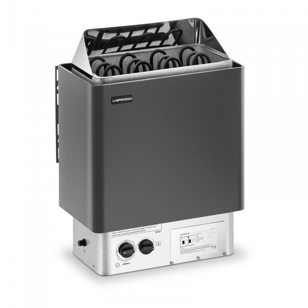 Produtos recondicionados Aquecedor para sauna - elétrico - 6 kW - botão