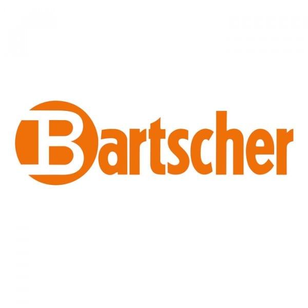 Bartscher Trilhos para prateleira - 1 par - 530 mm