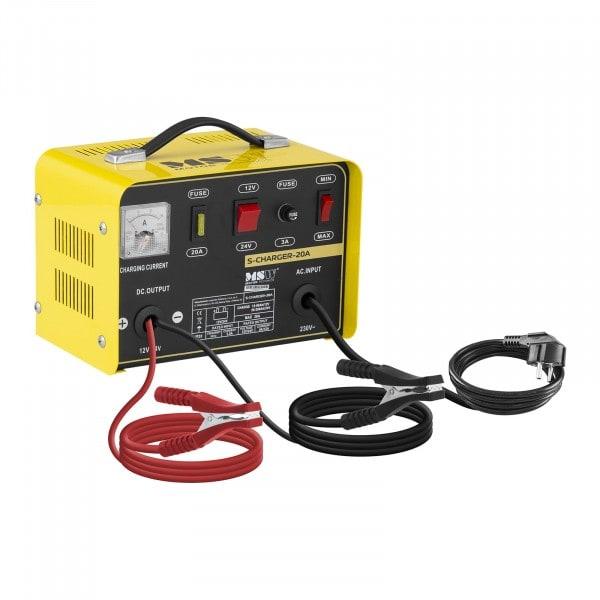 Artigos usados Carregador de Baterias - 12/24V - 12A - preto - amarelo