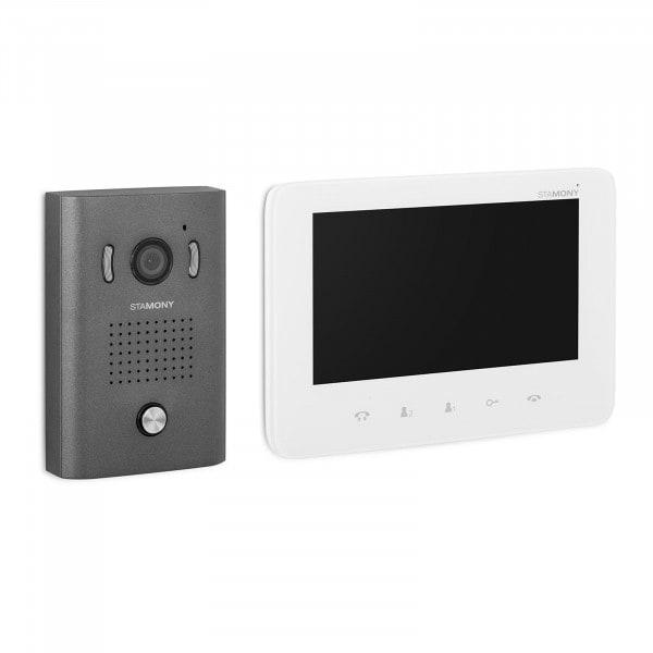 """Produtos recondicionados Interfone com câmera para casa - 7"""" - LCD"""