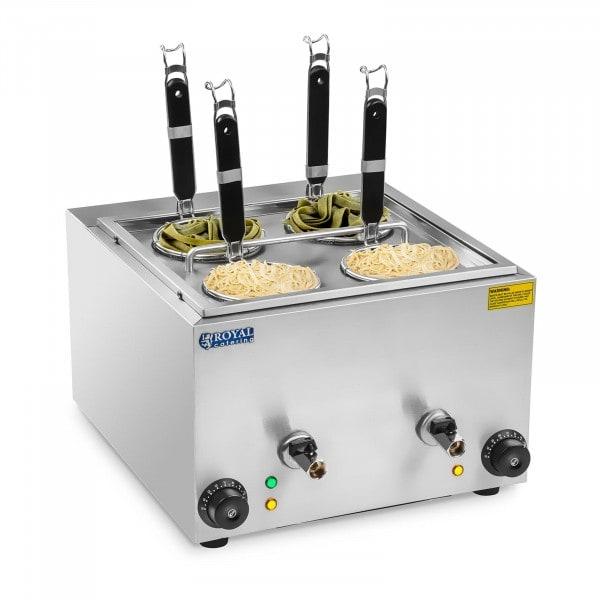 Máquina de cozer massa - 4 cestas