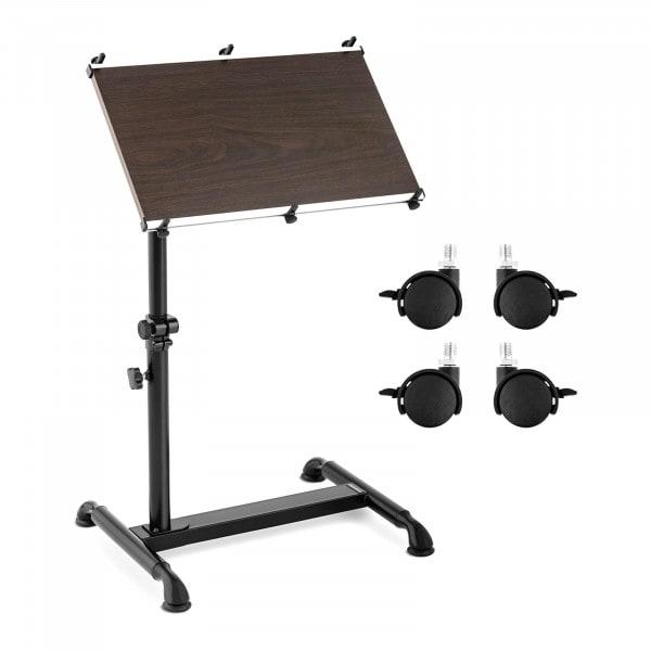 Produtos recondicionados Mesa para notebook - dobrável - rodas