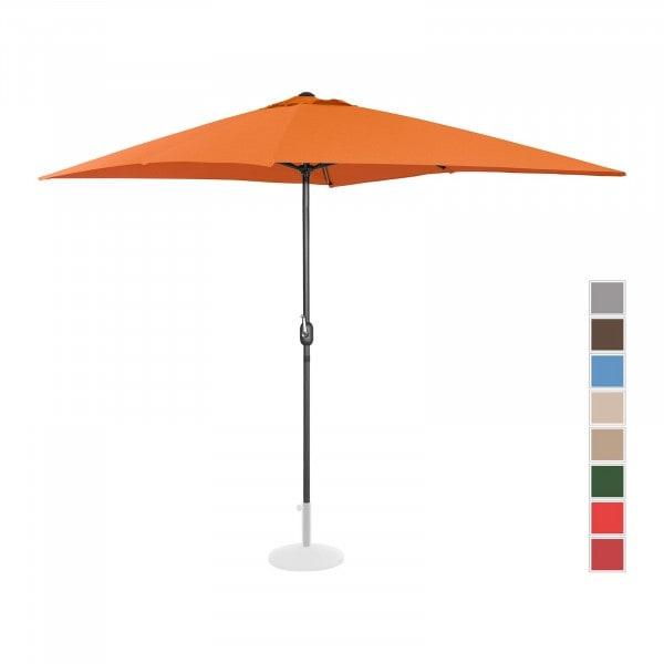 Produtos recondicionados Guarda-sol suspenso para jardim - 200 x 300 cm - laranja