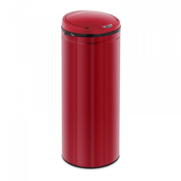 Produtos recondicionados Caixote de lixo automático 50 l - sensor 30 cm - vermelho