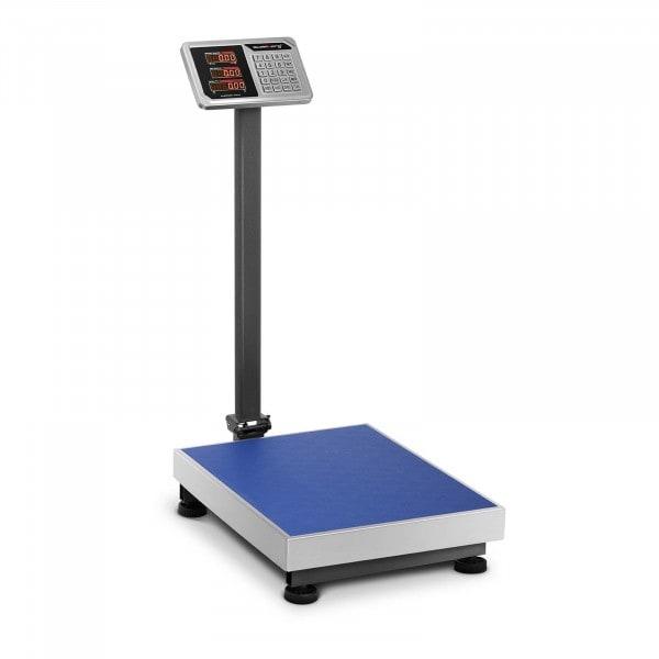 Produtos recondicionados Balança de plataforma - 150 kg / 20 g - LED - 45 x 60 cm