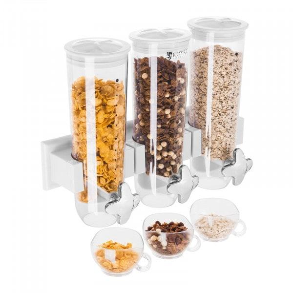 Produtos recondicionados Dispensador de cereais 4,5 L - 3 recipientes