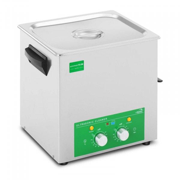 Dispositivo de limpeza ultrassónico - 10 litros - 180 W - Eco