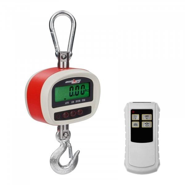 Balança digital de guindaste - 300 kg / 50g - LCD