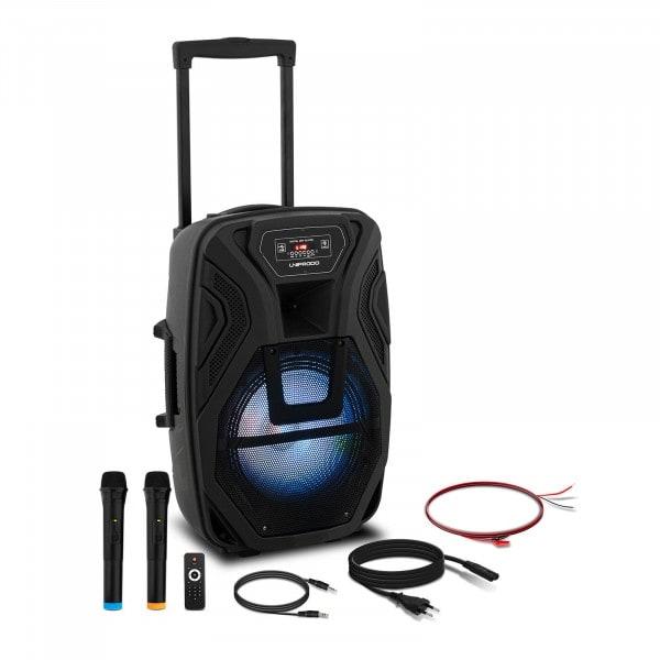Produtos recondicionados Coluna portátil - RMS 40 W - Bluetooth - 2 microfones