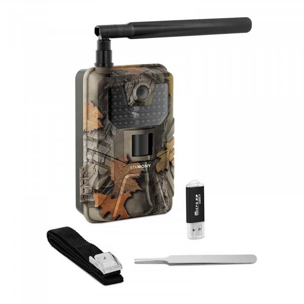 Artigos usados Câmera de caça - 8 MP - Full HD - 44 IR LED - 20 m - 0,3 s - LTE